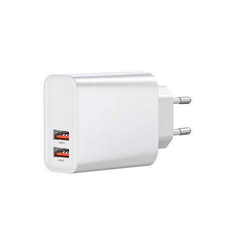 Telefoni ja tahvelarvuti laadija: 2xUSB 3A Quick Charge