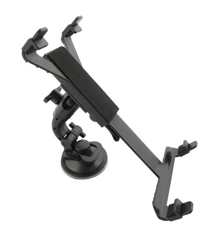 "Car Window Mount Holder from 14.5cm up to 25cm width tablets 7-12"", with  the second headrest mount"