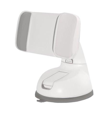 Autokinnitus, autohoidik klaasi või armatuuri peale, kleepjas, hoidik kuni 8cm, jala pikkus 8cm