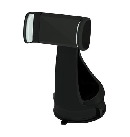 Autokinnitus, autohoidik klaasi või armatuuri peale, kleepjas, hoidik kuni 7.5cm, jala pikkus 11cm