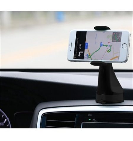 Car Window or Desk Mount Holder, Stickable, up to 7.5cm devices, leg lenght 11cm
