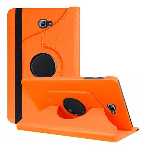 "Case Cover Samsung Galaxy Note 2014, 10.1"", P6000, P6010, P6050 - Orange"