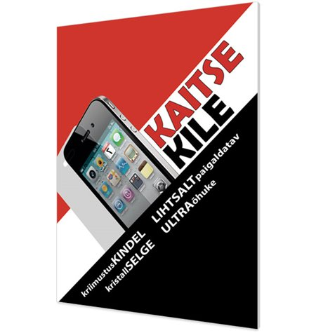 Tagapoole Kaitsekile Apple iPhone 4S, IP4S
