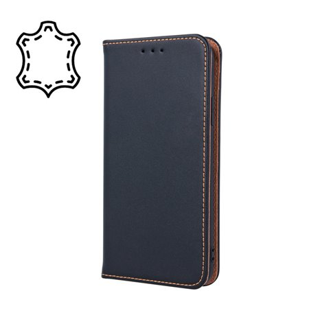 Leather Case Cover Huawei Y6 2018, Honor 7A, Y6 Prime 2018 - Black