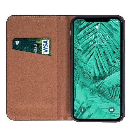 Nahkkaaned Samsung Galaxy A41, A415 - Must