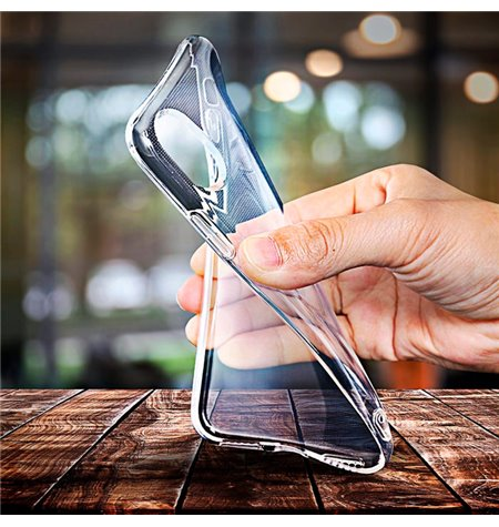 Case Cover Huawei Y6P - Transparent