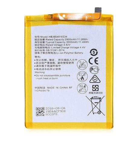 Analoog Aku HB366481ECW - Huawei P10 Lite, P9, P9 Lite, Honor 8, P Smart, Y6 2018, Honor 7 Lite, P8 Lite 2017