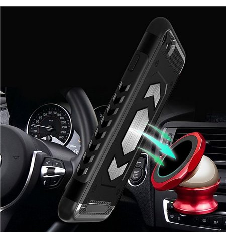Baseus SMALL EARS Leather - STICKER - MAGNET Car Holder