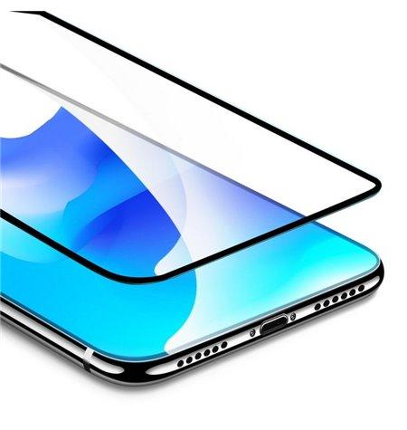 3D защитное стекло, 0.3мм, для Samsung Galaxy A7 2018, A750 - Чёрный
