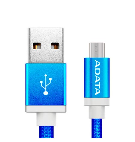 Adata juhe, kaabel: 1m, Micro USB - USB