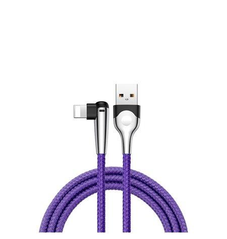 Baseus cable: 1m, Lightning, iPhone, iPad - USB: Mvp Elbow