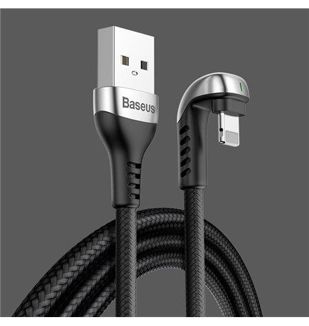 Baseus cable: 1m, Lightning, iPhone, iPad - USB: U-Shaped