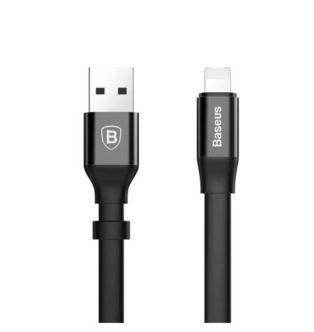 Baseus juhe, kaabel: 2in1, 0.23m, USB - Lightning, iPhone, iPad + Micro USB: Nimble Portable