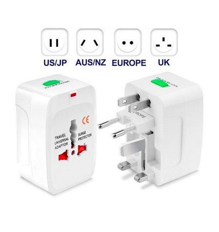 Toiteadapter, üleminek: UK - EU - US - AU: universal