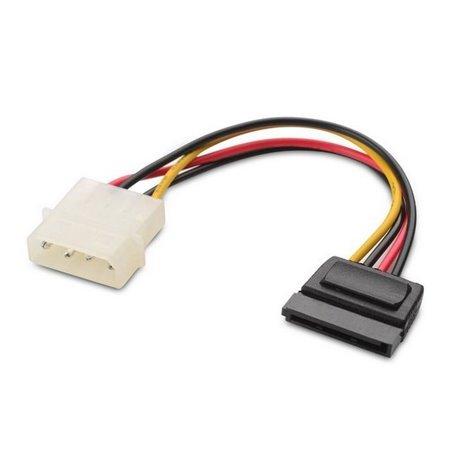 PC Internal Cable: 0.15m, Molex, male - Sata, female