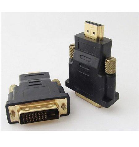 Adapter: HDMI, male - DVI-D, male