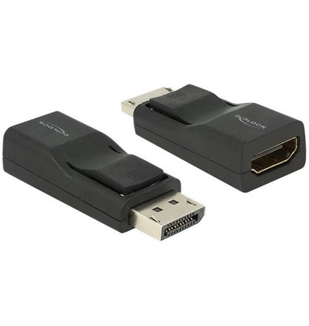 Adapter, üleminek: DisplayPort, male - HDMI, female, FullHD, 1920x1080