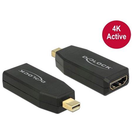 Adapter, üleminek: Mini DisplayPort, male - HDMI, female, 4K, 3840x2160, Active