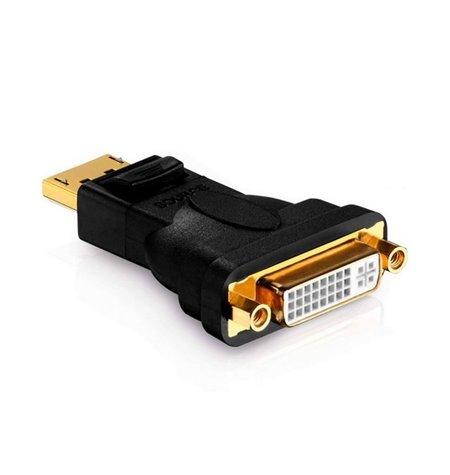 Adapter, üleminek: DisplayPort, male - DVI-I, female