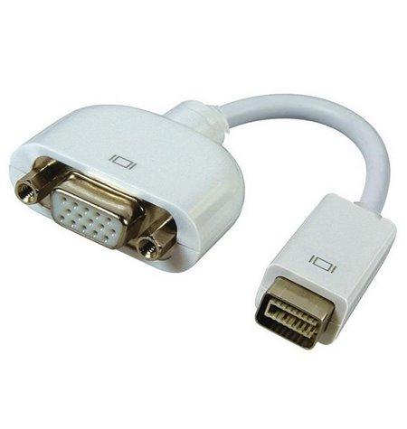 Adapter, üleminek: 0.15m, Mini DVI, male - VGA, D-Sub, female