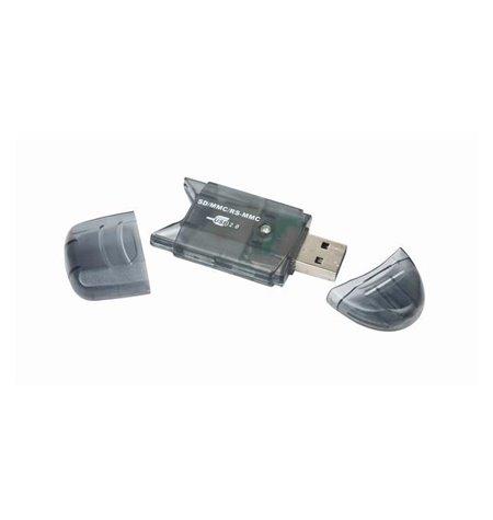 Kaardilugeja: USB male - SD, micro SD, card reader