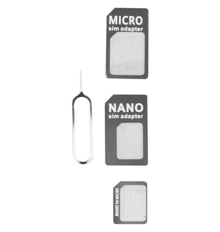 Kaardilugeja: SIM 3in1 adapter
