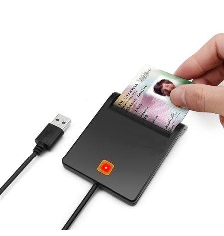 Kaardilugeja: USB male - ID card, Smart card