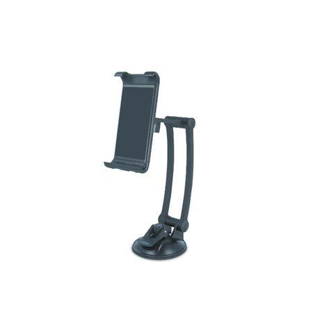 Tahvelarvuti autohoidik kleepjas ja iminapp klaasi vői armatuuri peale, hoidik 12.5-19.5cm, jalg 25cm: Forever MTH200